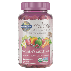 mykind Organics Women's 40+ Multivitamins - 120 Gummies