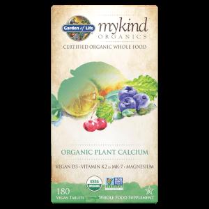 mykind Organics Calcium Végétal - 180 Comprimés