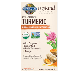 mykind Organics Herbal Curcuma - Force Additionnelle - 120 Comprimés