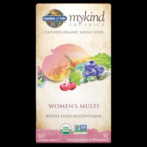 mykind Organics Multi für Frauen - 60 Tabletten