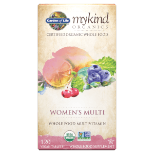 mykind Organics Vrouwen Multivitaminen - 120 tabletten