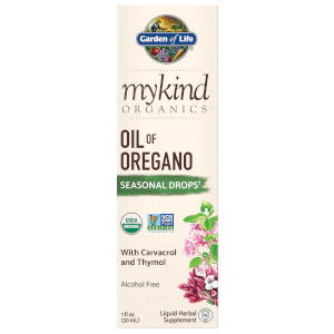 mykind Organics Herbal Oil of Oregano Drops - 30ml