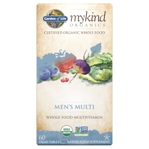 mykind Organics Men's Multivitamins - Berry - 60 Tablets