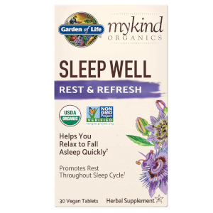 mykind Organics Herbal Night Tablets - 30 Tablets