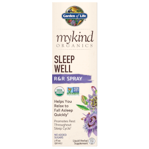 mykind Organics Herbal Night Spray - 58ml