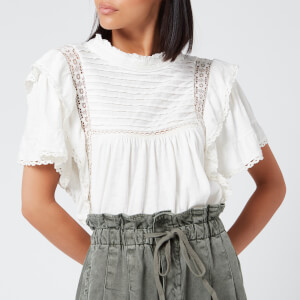 Free People Women's Le Femme T-Shirt - Ivory