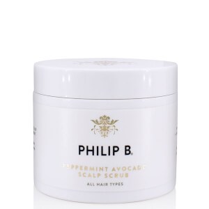 Philip B Peppermint Avocado Scalp Scrub 236ml