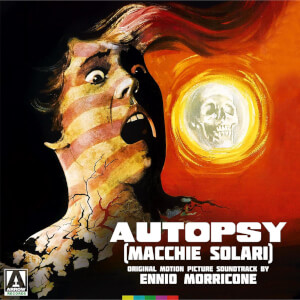 Autopsy (Macchie Solari) Ennio Morricone- Black Vinyl