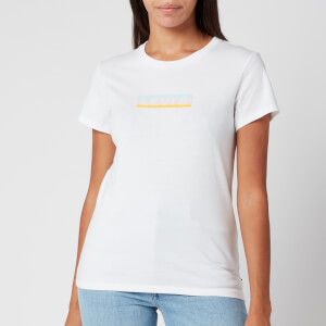 Levi's Women's The Perfect T-Shirt - Box Tab Gradient White
