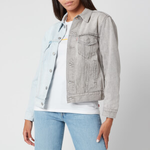 Levi's Women's Ex Boyfriend Trucker Jacket - Ice Block Trucker
