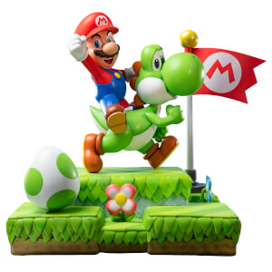 Mario and Yoshi Figurine - Definitive Edition