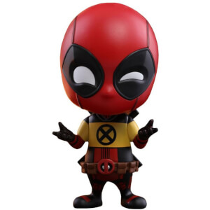 Figurine Cosbaby Deadpool (Version X-Men) - Deadpool 2 - Taille S - Hot Toys