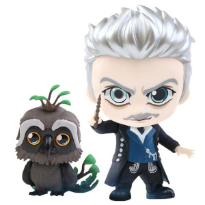 Hot Toys Fantastic Beasts: The Crimes of Grindelwald Cosbaby Gellert Grindelwald and Augurey - Size S (Set of 2)