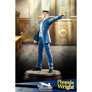 First 4 Figures Phoenix Wright Ace Attorney Dual Destinies Statue 1/6 Phoenix Wright 34 cm