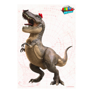 T-Rex (Super Mario Odyssey) Art Print