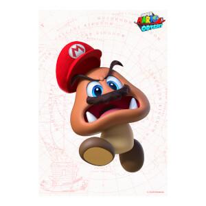 Goomba (Super Mario Odyssey) Art Print
