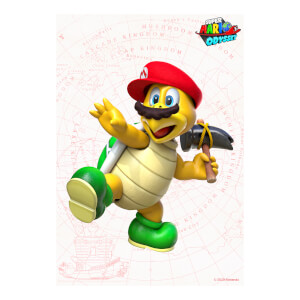 Hammer Bro (Super Mario Odyssey) Art Print