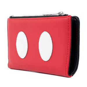 Loungefly Disney Mickey Mouse Quilted Cosplay Flap Wallet
