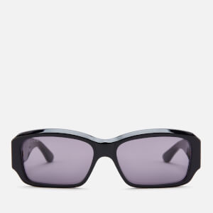 Gucci Men's Bold Dapper Dan Sunglasses - Black/Grey