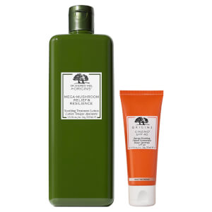 Origins Limited Edition Mega-Mushroom Treatment and Ginzing Energy Boosting Bundle