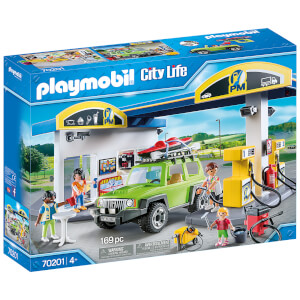 Playmobil City Life Fuel Station (70201)