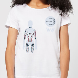 Westworld Delos Host Women's T-Shirt - White