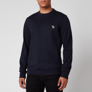 PS Paul Smith Men's Zebra Logo Regular Fit Sweatshirt - Dark Navy