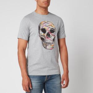 PS Paul Smith Men's Skull T-Shirt - Grey