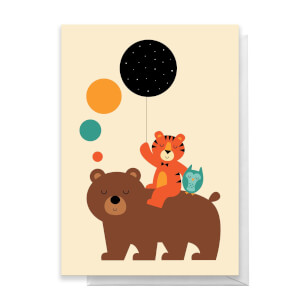 Andy Westface Little Explorer Greetings Card