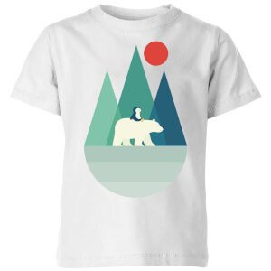 Andy Westface Bear You Kids' T-Shirt - White