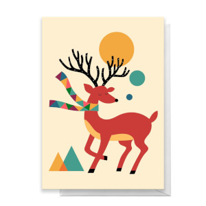 Andy Westface Reindeer Greetings Card