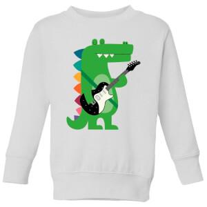 Andy Westface Croco Rock Kids' Sweatshirt - White