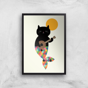 Andy Westface Purrmaid Giclee Art Print