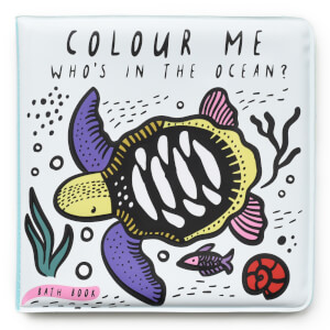 """Wee Gallery """"Who's In The Ocean?"""" Colour Bath Book"""
