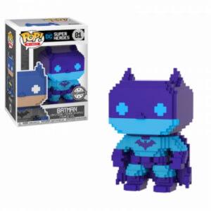 DC Comics Batman (Purple) 8-Bit EXC Pop! Vinyl Figure