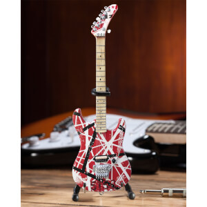 Axe Heaven Van Halen EVH Striped 5150 Miniature Guitar Replica