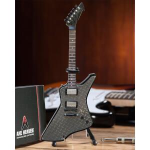 Axe Heaven Metallica James Hetfield Diamond Plate Miniature Guitar Replica