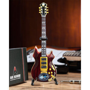 Axe Heaven Grateful Dead Jerry Garcia Rosebud Miniature Guitar Replica
