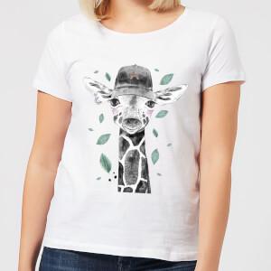 Rainbow Giraffe Women's T-Shirt - White