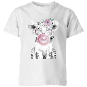 Bubblegum Cub Kids' T-Shirt - White