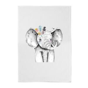 Indie Elephant Cotton Tea Towel