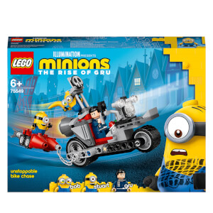 LEGO Minions: Unstoppable Bike Chase & Skate Toy (75549)