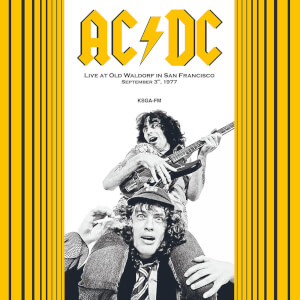 AC/DC - Live At Old Waldorf In San Francisco September 3 1977 (Red Vinyl)