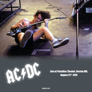 AC/DC - Paradise Theater Boston MA August 21st 1978 (Blue Vinyl)