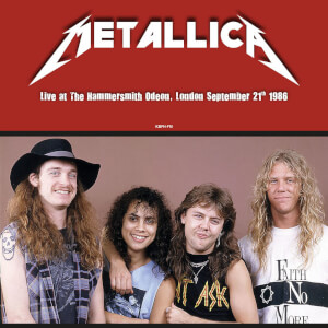 Metallica - Live At The Hammersmith Odeon London September 21st 1986 (Red Vinyl)