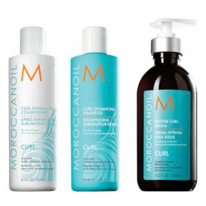 Moroccanoil Curl Enhancing Trio