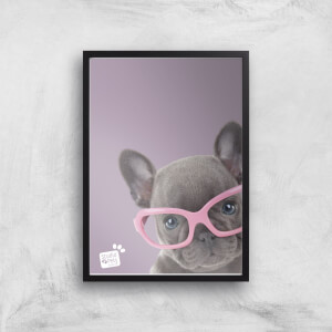 Studio Pets Shady Giclee Art Print