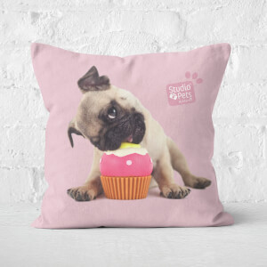 Studio Pets Snuggle Cupcake Square Cushion