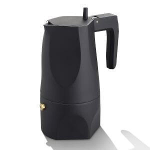 Alessi Coffee Maker Ossidiana - Black