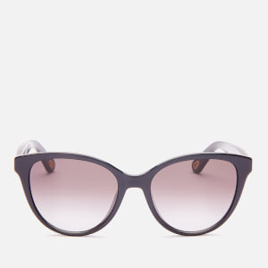Chloé Women's Cat Eye Acetate Sunglasses - Black